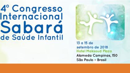 Ibross apoia o 4° Congresso Internacional Sabará de Saúde Infantil