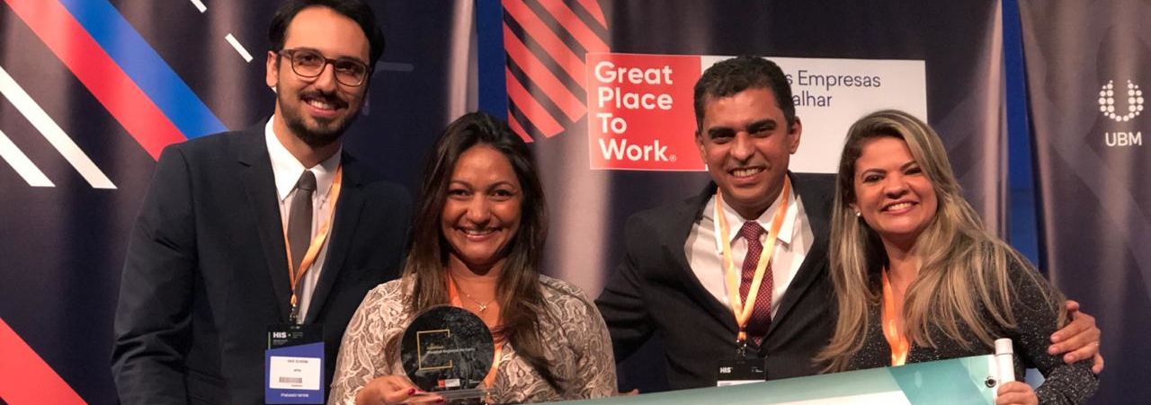 ISGH conquista dois prêmios do GPTW