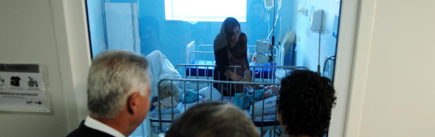 Hospital da Criança de Brasília completa sete anos com três milhões de atendimentos