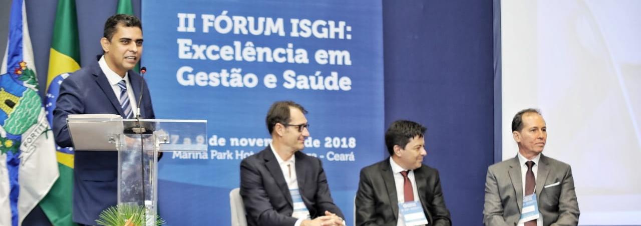 II Fórum ISGH de Excelência em Gestão de Saúde: Confira as palestras do evento