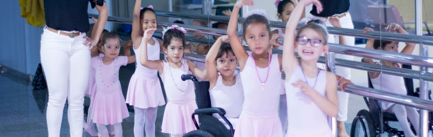 Ballet Terapêutico do CRER promove saúde e inclusão social das crianças com deficiência