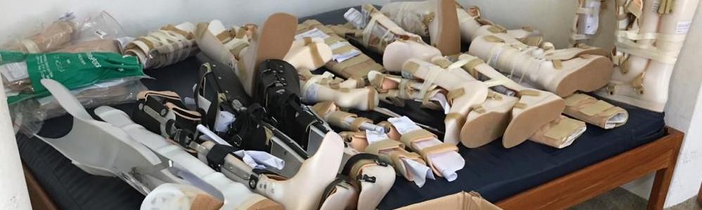 Caminhão da Oficina Ortopédica do CRER entregou mais de três mil órteses e próteses em 2018
