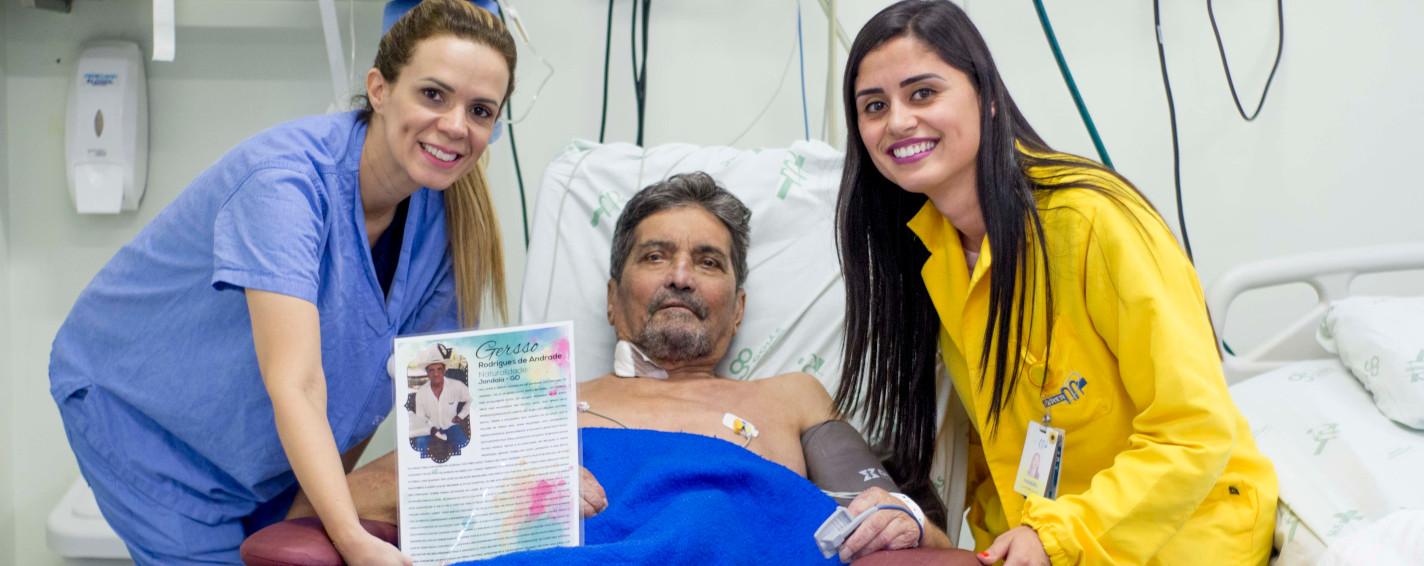 Projeto de humanização descreve história de pacientes internados