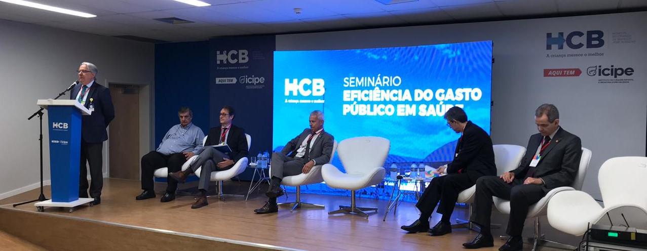 Seminário debate eficiência do gasto público em saúde