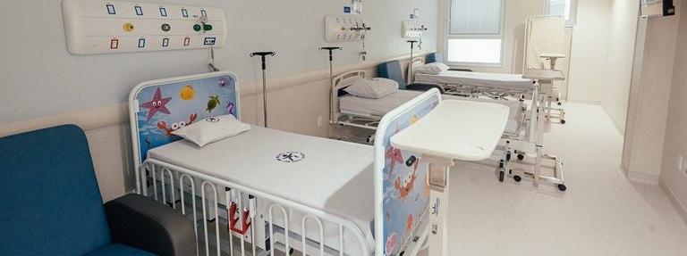 Hospital Infantil Menino Jesus recebe novos leitos