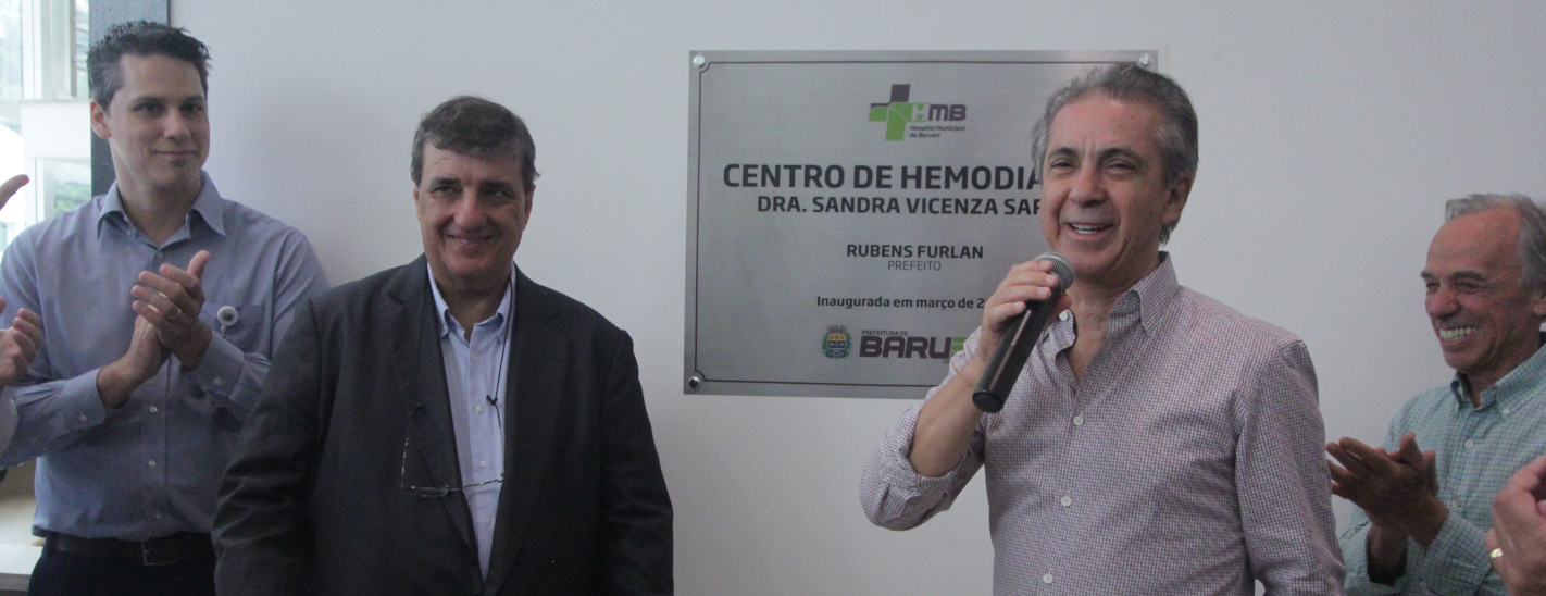 Prefeitura de Barueri entrega novo Centro de Hemodiálise à população
