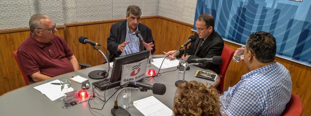 Rádio Trianon: Nacime Mansur reforça a importância da atenção primária