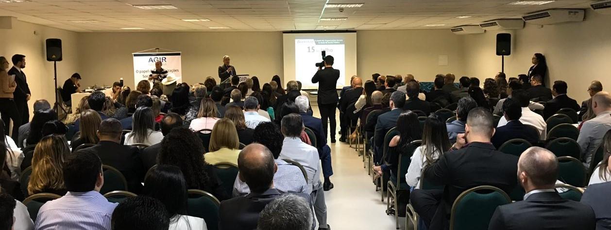 Ibross e AGIR promovem workshop para discutir o papel das OS na rede pública de Saúde