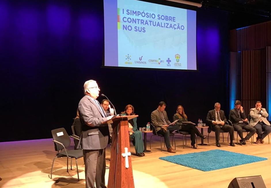 Ibross participa do 1º Simpósio sobre Contratualização no SUS