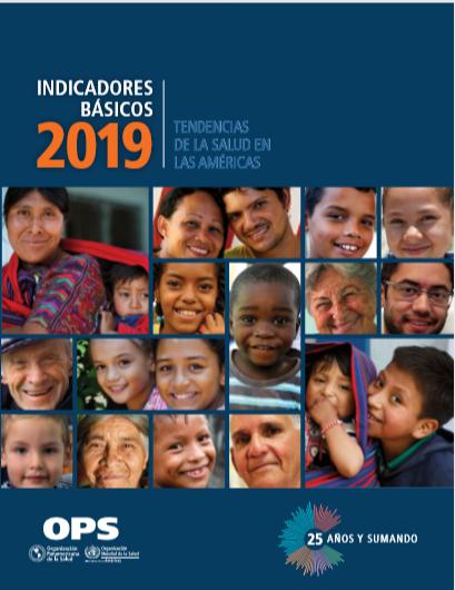 OPS divulga relatório 2019 sobre indicadores básicos da saúde nas Américas