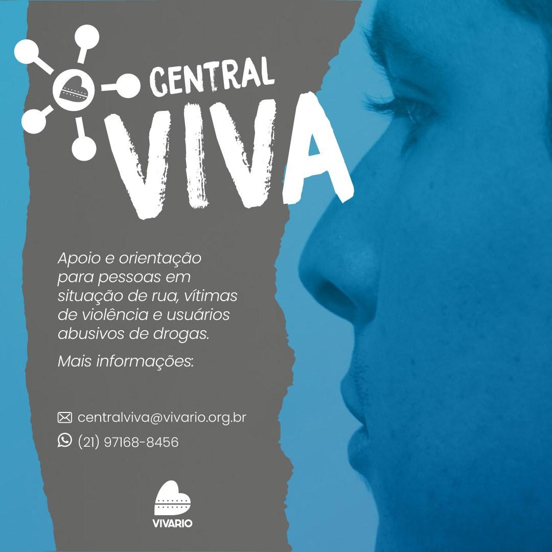 Programa do Viva Rio oferece apoio a vítimas de violência, em vulnerabilidade social e usuários abusivos de drogas