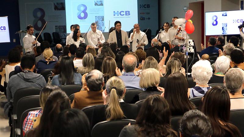 Hospital da Criança de Brasília comemora 8 anos com 3,6 milhões de atendimentos