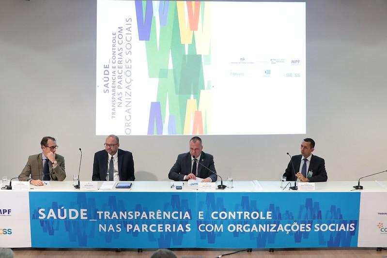 """Confira as apresentações do seminário """"Saúde: Transparência e Controle nas Parcerias com OS"""""""