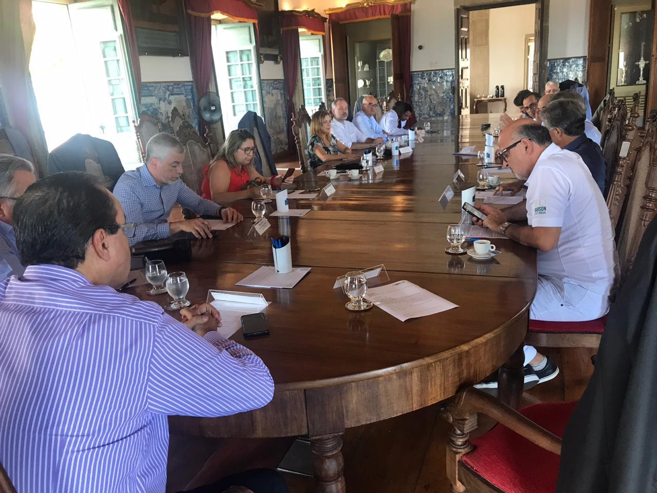 Representantes das OSS associadas ao Ibross participam de reunião em Salvador