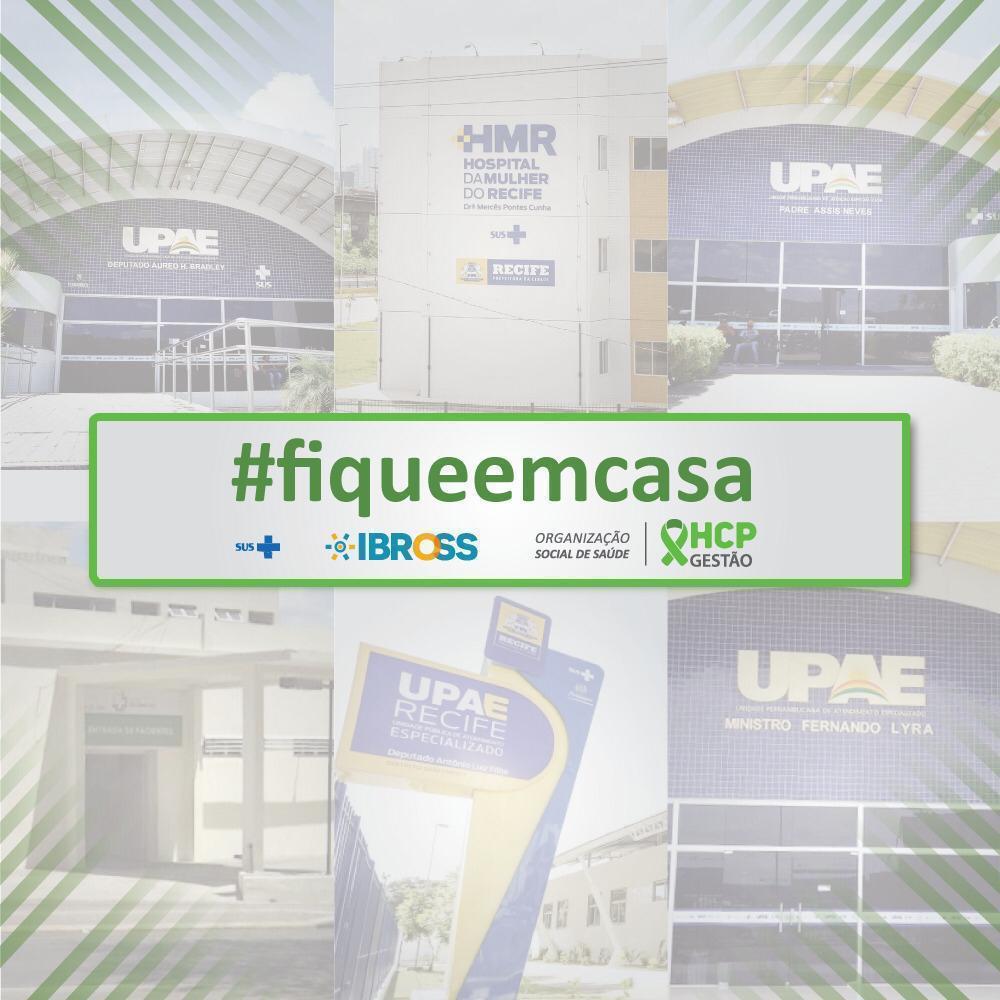 HCP incentiva a campanha #fiqueemcasa