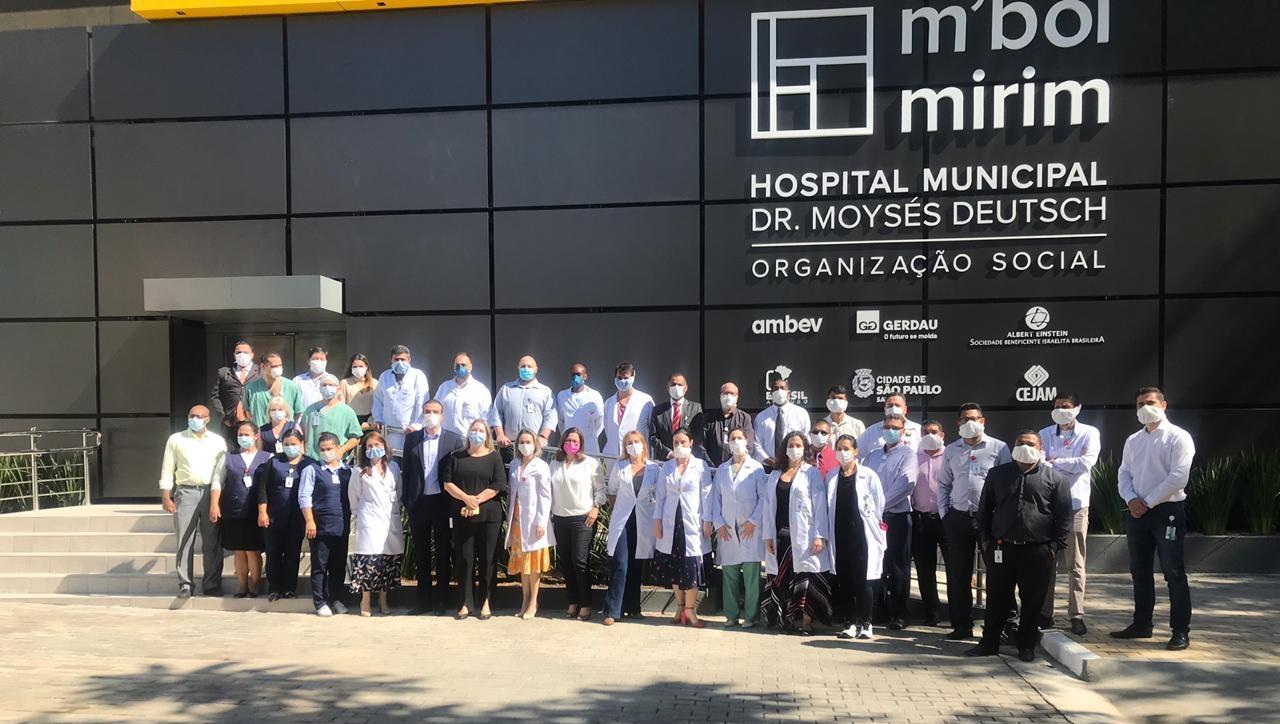 Hospital M'Boi Mirim recebe centro de tratamento do coronavírus