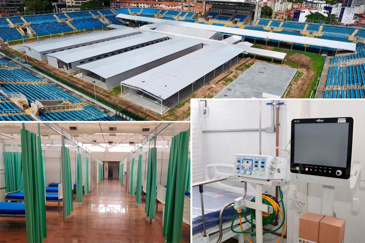 Apenas em hospitais de campanha, SPDM gerencia mais de 750 leitos para Covid-19