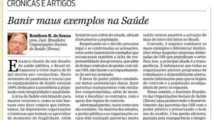 Artigo do presidente do Ibross é publicado no jornal O Dia (RJ)
