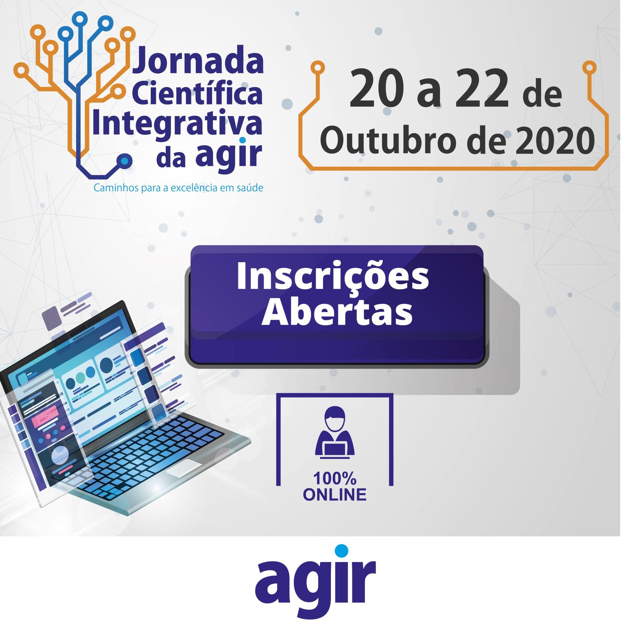 Participe da Jornada Científica Integrativa da Agir
