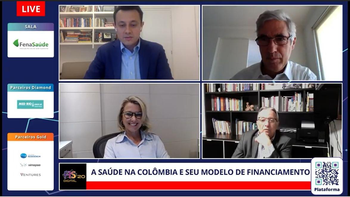 Renilson Rehem participa de debate sobre a saúde na Colômbia