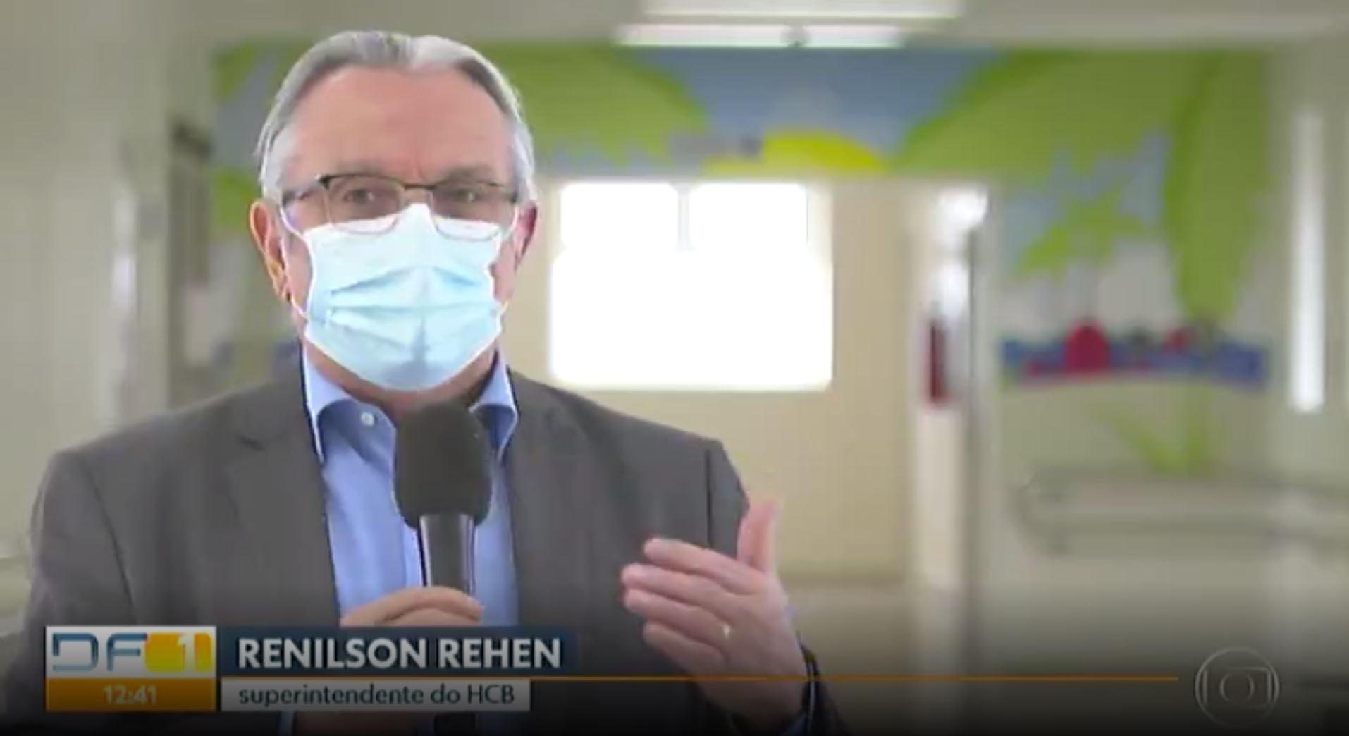 DF1/TV Globo: Hospital da Criança de Brasília comemora 9 anos de atendimentos