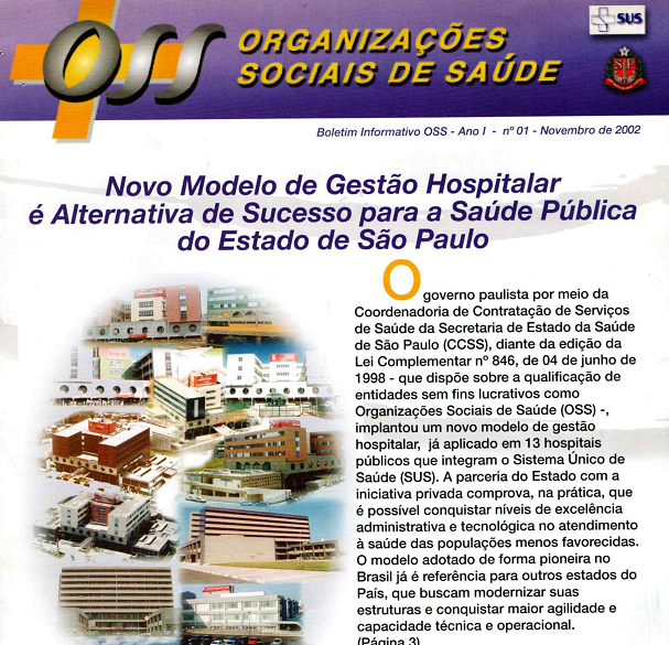 Relembre: há 18 anos era lançada a primeira edição do Boletim Informativo da OSS