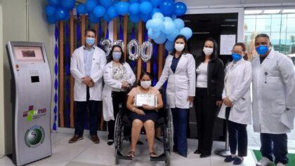 HMB celebra a marca de 3000 altas de pacientes internados com Covid-19