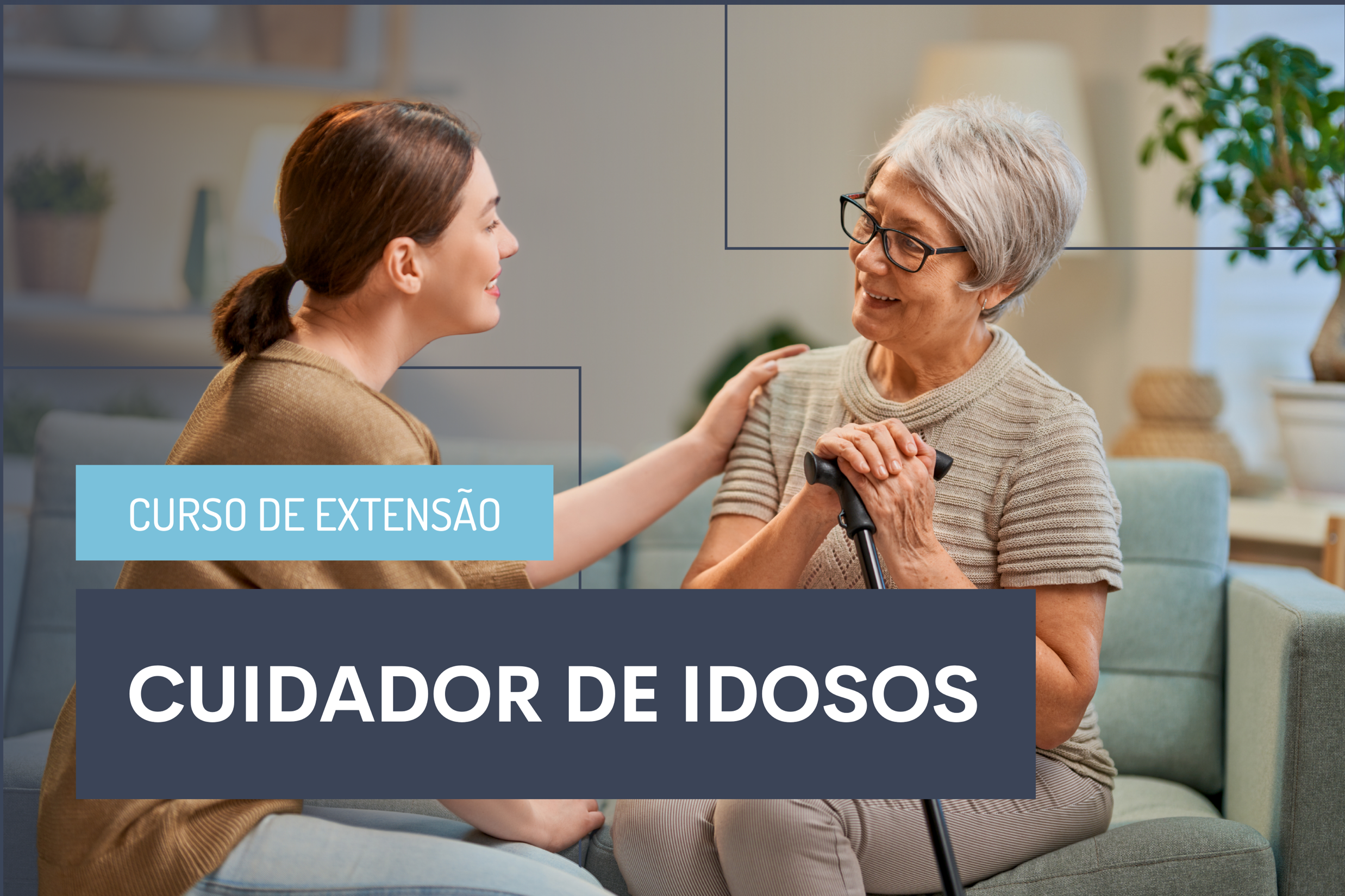 Filiados Ibross têm 20% de desconto em capacitação para cuidador de idosos